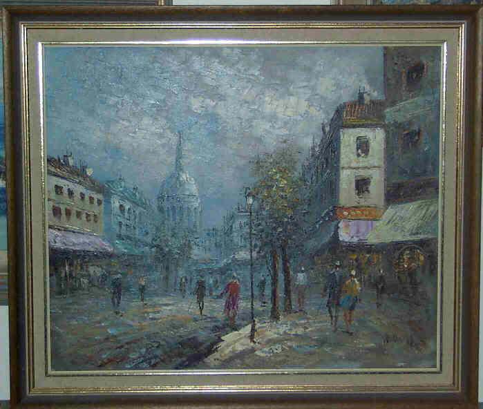 Burnett Oil Painting Value